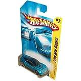 Mattel Hot Wheels 2008 New Models Series 1:64 Scale Die Cast Metal Car # 9 Of 40 : Metallic Blue Lux