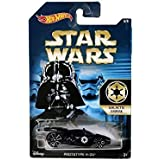 Hot Wheels, 2015 Star Wars, Exclusive Galactic Empire Prototype H-24 [Darth Vader] Die-Cast Car #6/8
