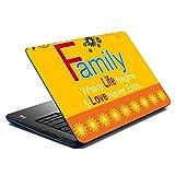 MeSleep Family Life Laptop Skin