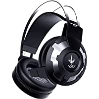 Yobo A6 Over-ear Stereo Mega Bass Noise Cancelling Headset With Microphone For PC And Notebook Black Silver Black...