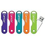 LexarTM JumpDrive® TwistTurn USB Flash Drive, 64GB, Assorted Colors (No Color Choice) - Easily Slips Onto A Keychain...