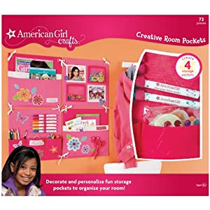 american girl ideas crafts american crafts creative room pockets kit 3336