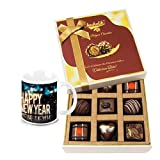 The Best Classic Collection Of Chocolates With New Year Mug - Chocholik Luxury Chocolates