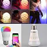 Alcoa Prime 6W Smart WiFi RGBW LED Light Bulb White Color 6500k 100-240V APP Control RGB Lamp For IOS Android...