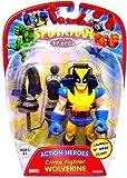 Spider-Man & Friends 6 Inch Action Heros Figureure Crm Figurehter Wolverine