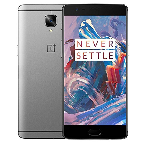 OnePlus 3, RAM 6GB+ROM 64GB 4G FDD-LTE 5.5 inch Android 6.0 Smart Phone Qualcomm Snapdragon 820 Quad Core 2x2.2GHz + 2x1.6GHz, 8.0MP+16.0MP (Grey)