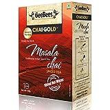 GeeBees Chai Gold Instant Premix Masala Tea Sweetened, 140g