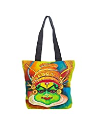 Pranil Designs-Hand Painted Canvas Tote_CT-6A