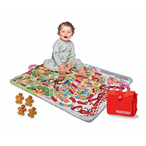 Click to buy Candy Land games: Candyland board blanket from Amazon!