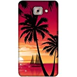 PrintVisa Designer Back Case Cover For Samsung Galaxy On Max (Nature Natural Wallpaper Light Ship)