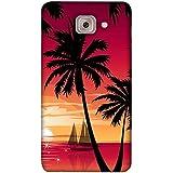 PrintVisa Designer Back Case Cover For Samsung Galaxy J7 Max :: Galaxy J7 Max :: Samsung Galaxy J7 Max G615F (Nature Natural Wallpaper Light Ship)