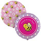 Party Destination 189630 Sweet-As-Can-Bee Foil Balloon