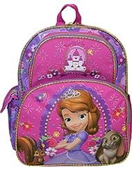 "Disney Princess Sofia Enhanced Deluxe 3D Embossed 12"" School Bag Backpack"