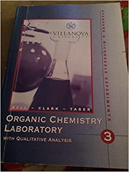 Organic Chemistry Laboratory Techniques [For Standard and Micro