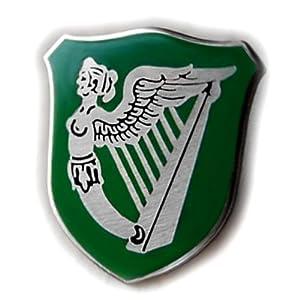 Amazon.com: IRELAND GREEN FLAG HARP WINGED MAIDEN ERIN GO