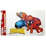 OFFICALLY LICENSED- MEDIUM CUTOUT STICKER OF SPIDER MAN(PACK OF 5) - B015WJQVXI