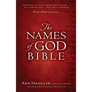 Book Review:  The Names of God Bible
