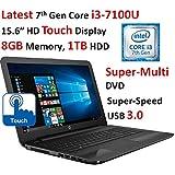 Latest 7th Generation Intel Core I3-7100U Dual-Core Processor (2.4GHz Speed, 3MB L3 Cache), Intel HD Graphics...
