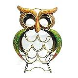 Shivay Arts Metal Handcrafted Owl Wine Rack/Holder/Shelf For 9 Bottles