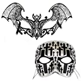 Nocturne-Cemetary Casanova - Masquerade Masks for a Couple