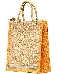 Multi-purpose Jute Carry Bag/lunch Bag/shopping Bag - B01LZ4J3LP