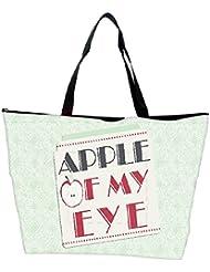 Snoogg Apple Of My Eye Designer Waterproof Bag Made Of High Strength Nylon