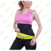 PETRICE New 2 PC Set (Waist Belt +Pants) Hot Shaper Shaping Neotex Trimmer For Women - Detox Thermo Sweat Neoprene...