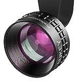 Aukey Optic Pro Lens, 2X HD Telephoto Cell Phone Camera Lens Kit, 2X AS Close, No Distortion, No Dark Circle,...