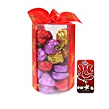 Chocholik's New Luxury Round Chocolate Box With 3d Mobile Cover For IPhone 6 - Gifts For Diwali