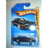 Hot Wheels 2010, 86 Monte Carlo SS. 10 New Models # 040/240. 1:64 Scale (LONG CARD VERSION)