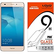 Huawei Honor 5C Tempered Glass, Screen Guard, Temper Glass, LOYO Tempered Glass Screen Protector For Huawei Honor...