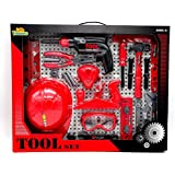 Little Treasures 18 Piece Pretend And Play Tool Play Set With Working Friction Drill Toy For You Little Handyman...