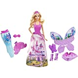 Barbie Fairytale Doll And Dress-up Set, Multi Color