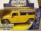 Jada Big Time Kustoms Die Cast Vehicle ~ 2003 Hummer H2 (1:32 Scale)