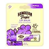 Hawaiian Tropic Tropical Sunblock Lip Balm - SPF 45+ .14-Ounce Tubes (Pack Of 24)