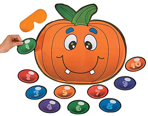 Silly Pin the Nose on the Pumpkin Game. 18