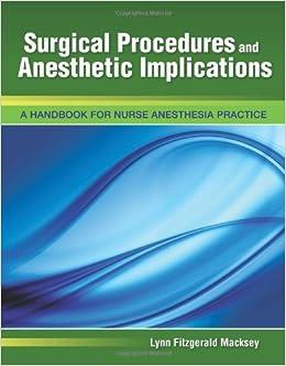 Nagelhout Nurse Anesthesia Pdf