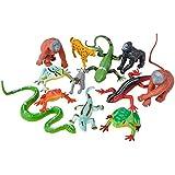 Oasis Supply Safari, Jungle Animal PlaySet Cake Topper Kit #2- 12 Pcs