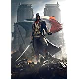 Assassin's Creed Unity ON FINE ART PAPER HD QUALITY WALLPAPER POSTER