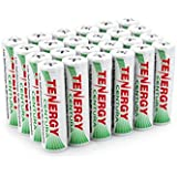 Tenergy Centura AA Low Self-Discharge LSD NiMH Rechargeable Batteries, 6 Card 24xAA