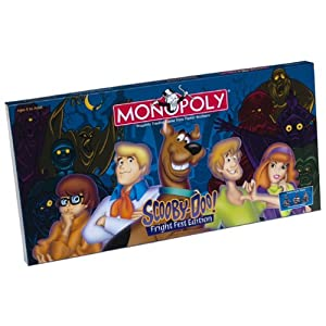 Click to buy Scooby Doo Monopoly Fright Fest Collector's Edition from Amazon!