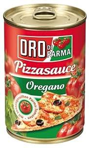 ORO di Parma Pizza Sauce Oregano, 6er Pack (6 x 400 g Dose