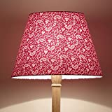 Craftter Traditional KERI DESIGN PINK Colour FABRIC FLOOR Lamp Shade (CWFLS-24)