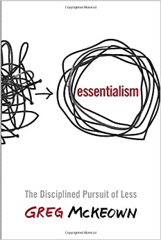 Essentialism book on Amazon