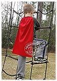 Abracadabrazoo Set of 10 RED Superhero Capes & Masks Sets Party Favor Super Hero