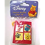 Disney Lasercut Notebook Zipper Pull Winnie The Pooh Toy For Backpack Bags