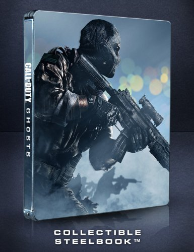 Call Of Duty: Ghosts Game With Collectible SteelBook (PS3)