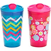 Summer Infant Sippy Stackers Sippy Cup, Girl, 10 Ounce