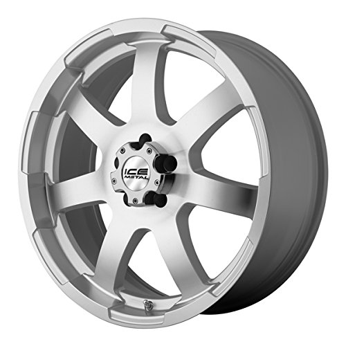 Ice Metal IW899 Aluminum Wheel with Silver Finish (18×8″/5x127mm)