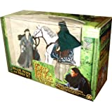 ToyBiz Year 2001 The Lord Of The Rings Movie Series The Fellowship Of The Ring Deluxe Horse And Rider Set - Arwen...